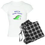 Rawr to Brain Cancer! Women's Light Pajamas