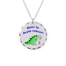 Rawr to Brain Cancer! Necklace
