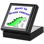 Rawr to Brain Cancer! Keepsake Box