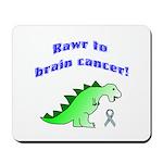 Rawr to Brain Cancer! Mousepad