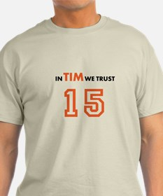 In Tim We Trust Denver Shirt