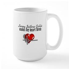 Leroy Jethro Gibbs makes my heart throb Mug