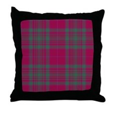 Tartan - MacAlister of Glenbarr Throw Pillow