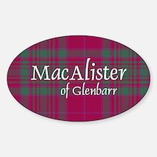 Tartan - MacAlister of Glenbarr Decal