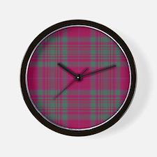 Tartan - MacAlister of Glenbarr Wall Clock