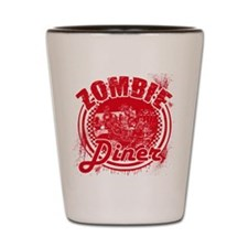 Zombie Diner Shot Glass