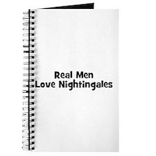 Real Men Love Nightingales Journal