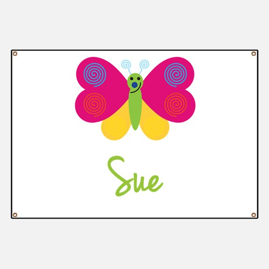 Sue The Butterfly Banner
