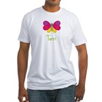 Terri The Butterfly Fitted T-Shirt