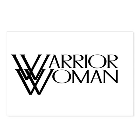 Warrior Woman Postcards (Package of 8)