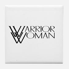 Warrior Woman Tile Coaster