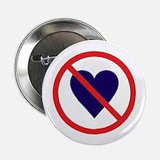 "No heart 2.25"" Button (10 pack)"