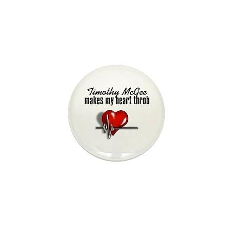 Timothy McGee makes my heart throb Mini Button (10