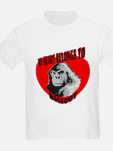 MY HEART BELONGS TO BIGFOOT T-Shirt