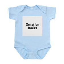 Omarion Rocks Infant Creeper