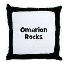 Omarion Rocks Throw Pillow