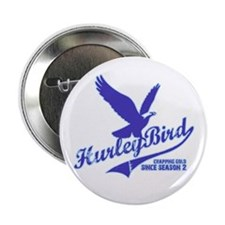 Hurley bird - crapping gold Button