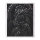 Dragon fantasy science fiction Fleece Blankets
