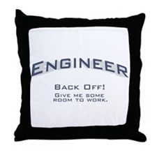 Engineer - Work Throw Pillow