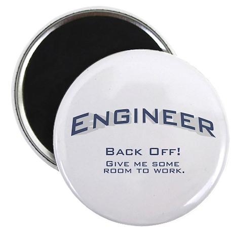 """Engineer - Work 2.25"""" Magnet (100 pack)"""