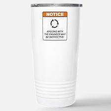 Engineer / Argue Travel Mug