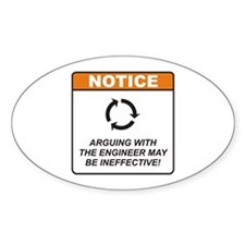 Engineer / Argue Decal