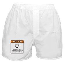 Engineer / Argue Boxer Shorts