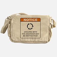 Engineer / Argue Messenger Bag