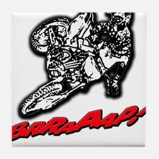 Dirtbike Brraaap Tile Coaster
