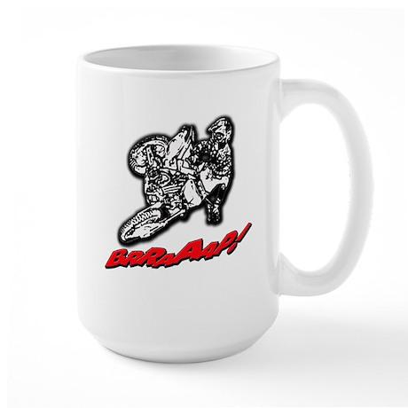 Dirtbike Brraaap Large Mug