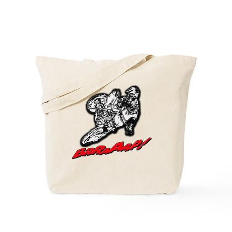Dirtbike Brraaap Tote Bag