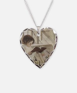 Read a Book Necklace