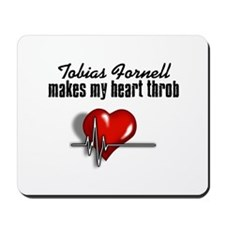 Tobias Fornell makes my heart throb Mousepad