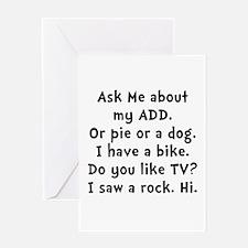 My ADD Greeting Card