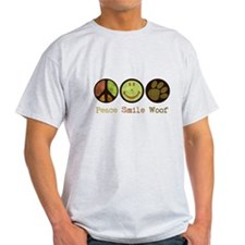 Smile and WOOF T-Shirt