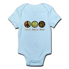 Smile and WOOF Infant Bodysuit