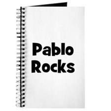 Pablo Rocks Journal
