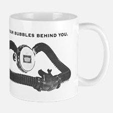 Bubbles Behind Small Small Mug