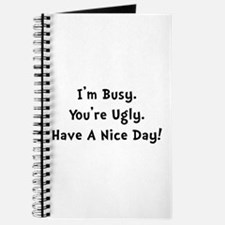 I'm Busy Journal