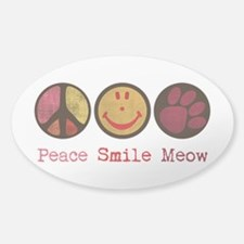 Smile and MEOW Decal