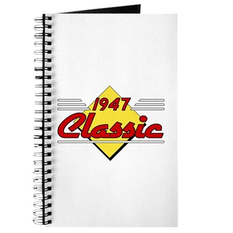 Classic 1947 Sign Journal