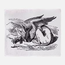 Cute John tenniel Throw Blanket