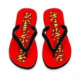 American flag slippers Flip Flops