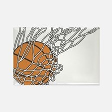 Basketball117 Rectangle Magnet
