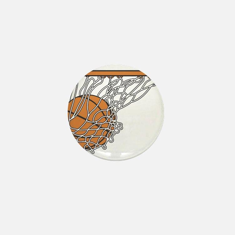 Basketball117 Mini Button