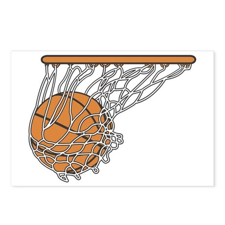 Basketball117 Postcards (Package of 8)
