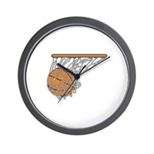 Basketball117 Wall Clock