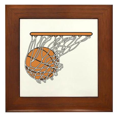 Basketball117 Framed Tile