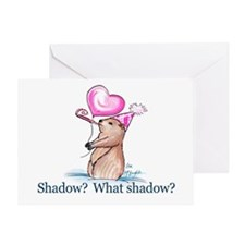 Shadow? What Shadow? Greeting Card