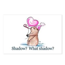 Shadow? What Shadow? Postcards (Package of 8)